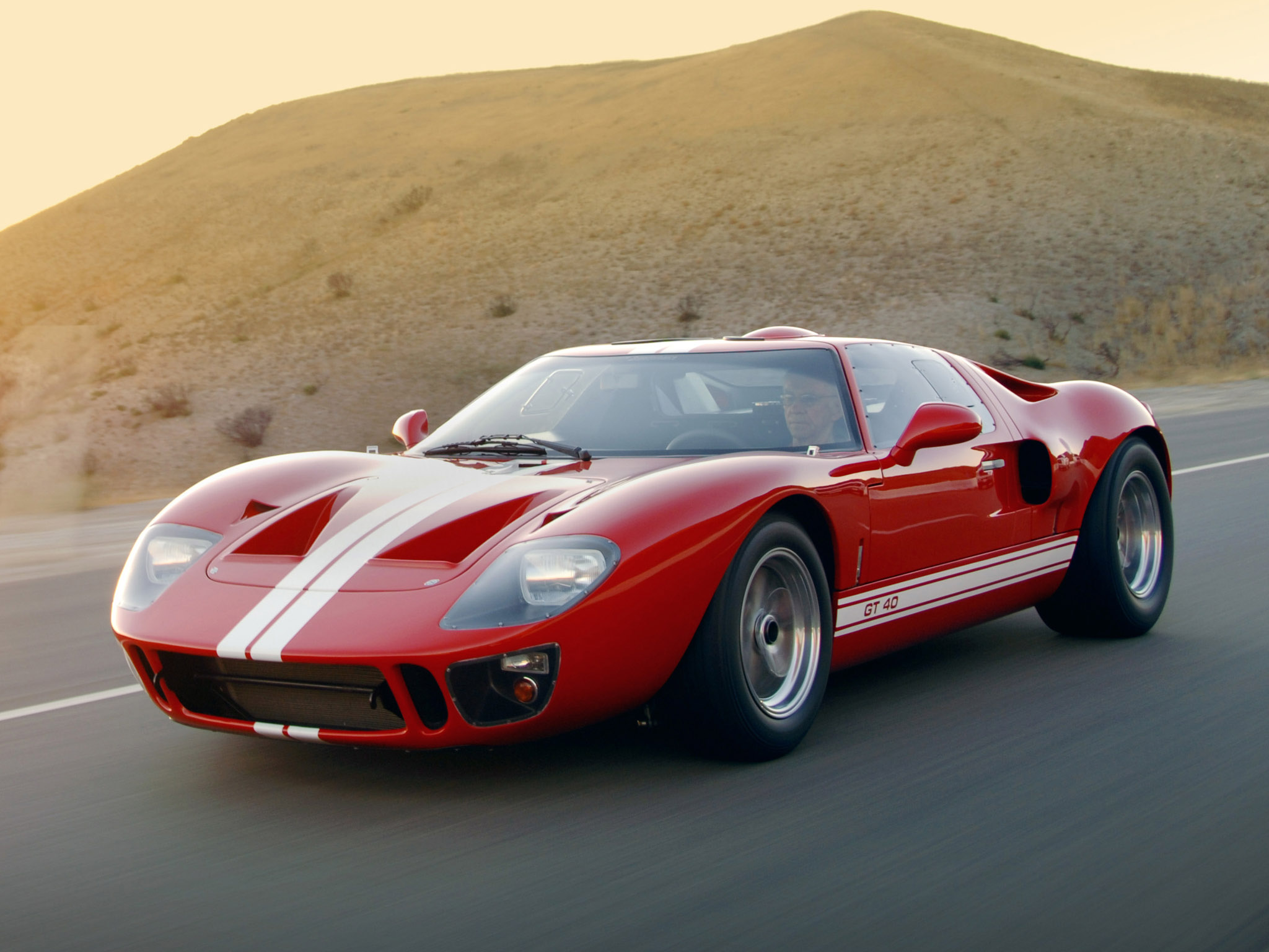 2007 Superformance Ford GT40 supercar supercars wallpaper