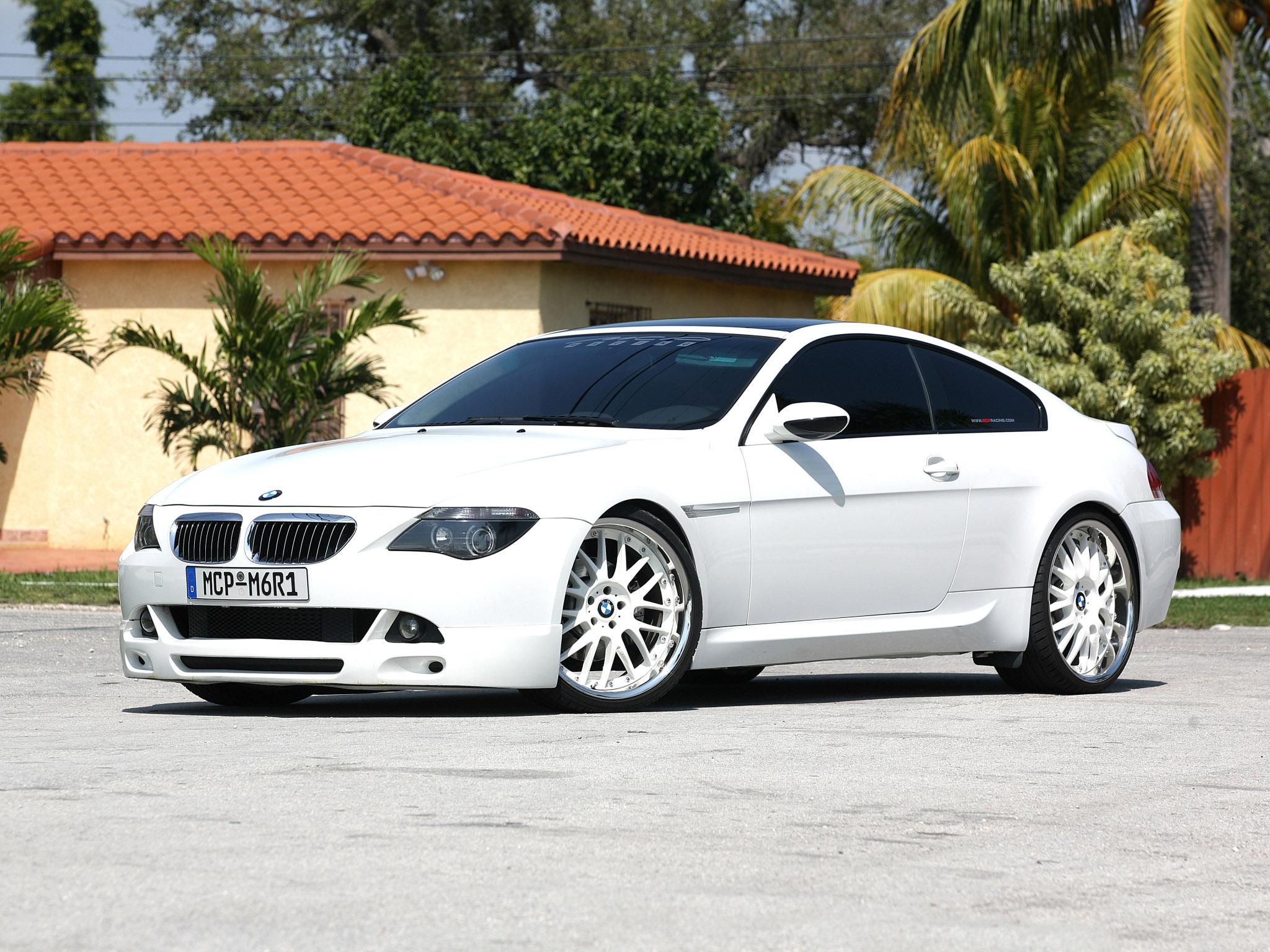 2008 MCP-Racing BMW 6-Series Coupe E63 tuning wallpaper | 1600x1200 ...