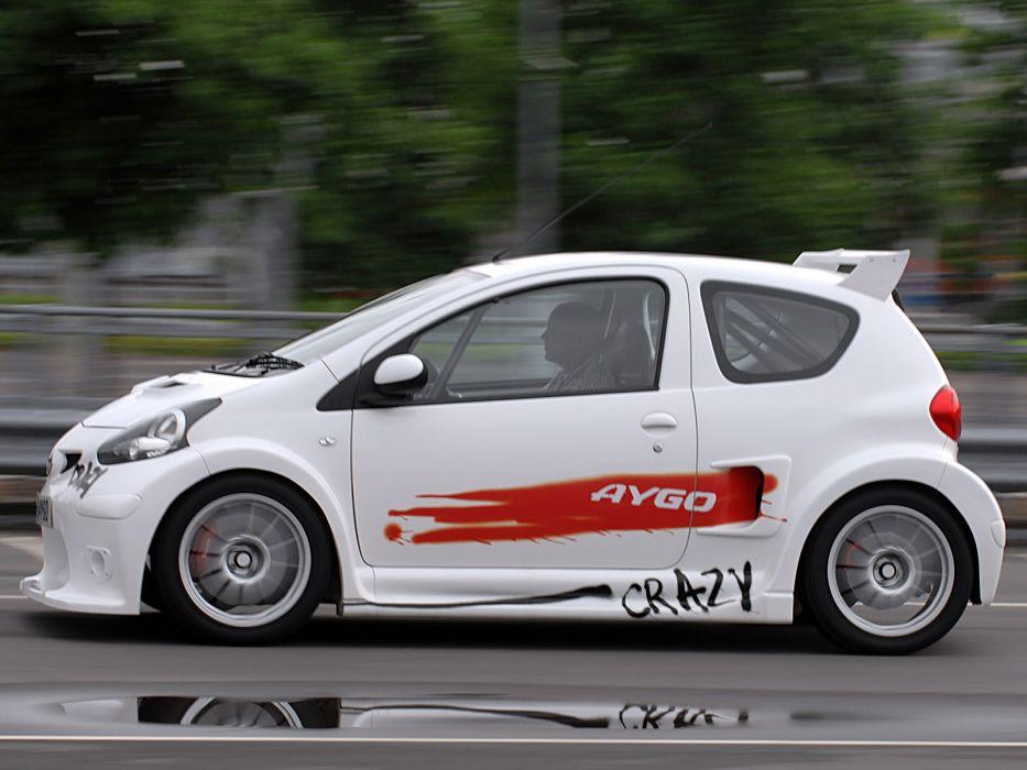 2008 Toyota Aygo Crazy Concept   g wallpaper