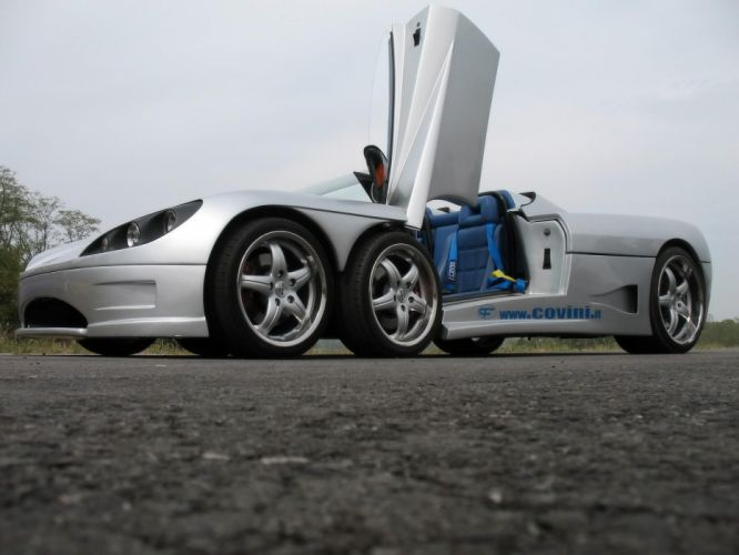 2009 Covini C6W spider supercar supercars d wallpaper
