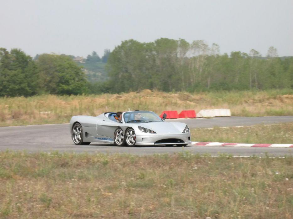 2009 Covini C6W spider supercar supercars   ds wallpaper