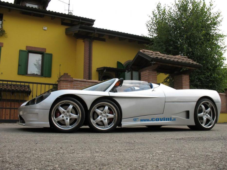 2009 Covini C6W spider supercar supercars  d wallpaper
