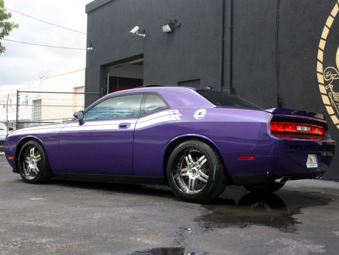 2009 MCP-Racing Dodge Challenger R-T muscle supercar supercars d wallpaper