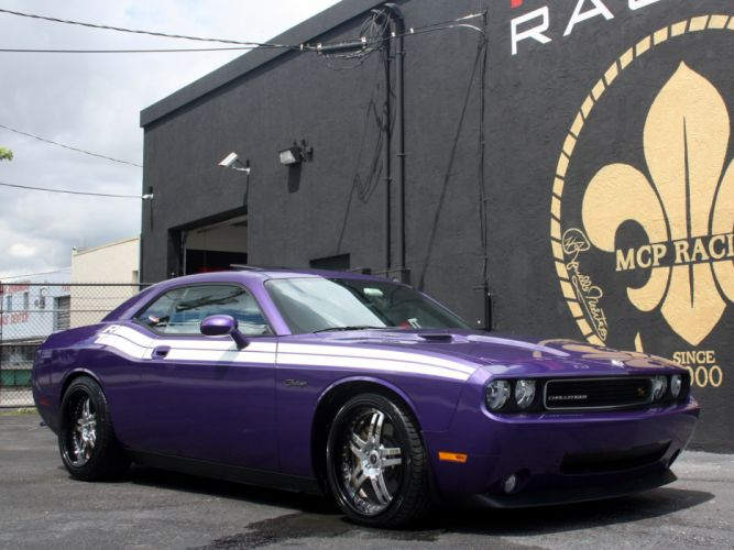2009 MCP-Racing Dodge Challenger R-T muscle supercar supercars f wallpaper