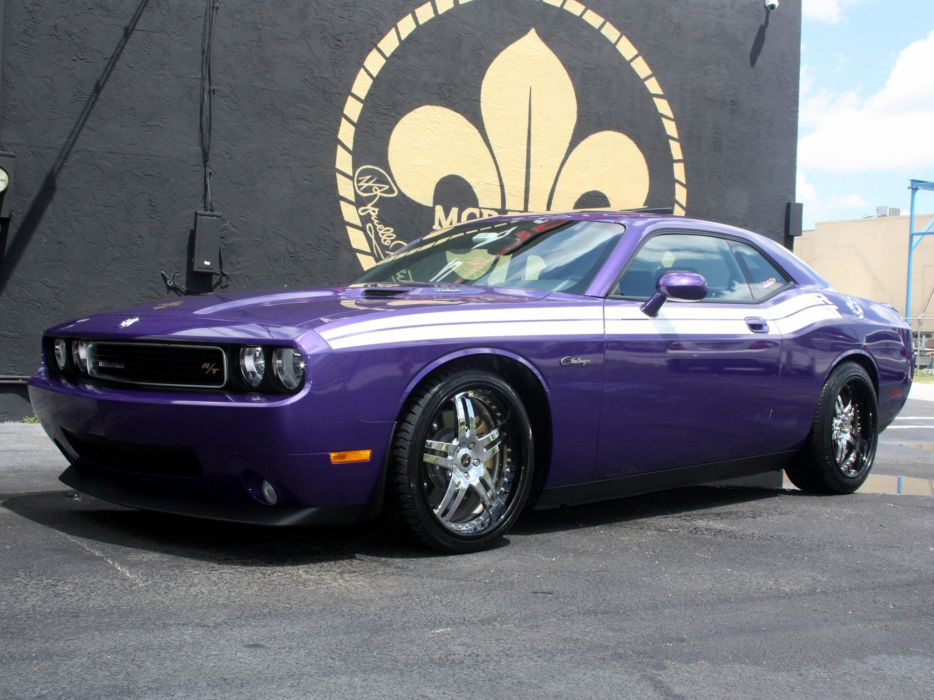 2009 MCP-Racing Dodge Challenger R-T muscle supercar supercars wallpaper