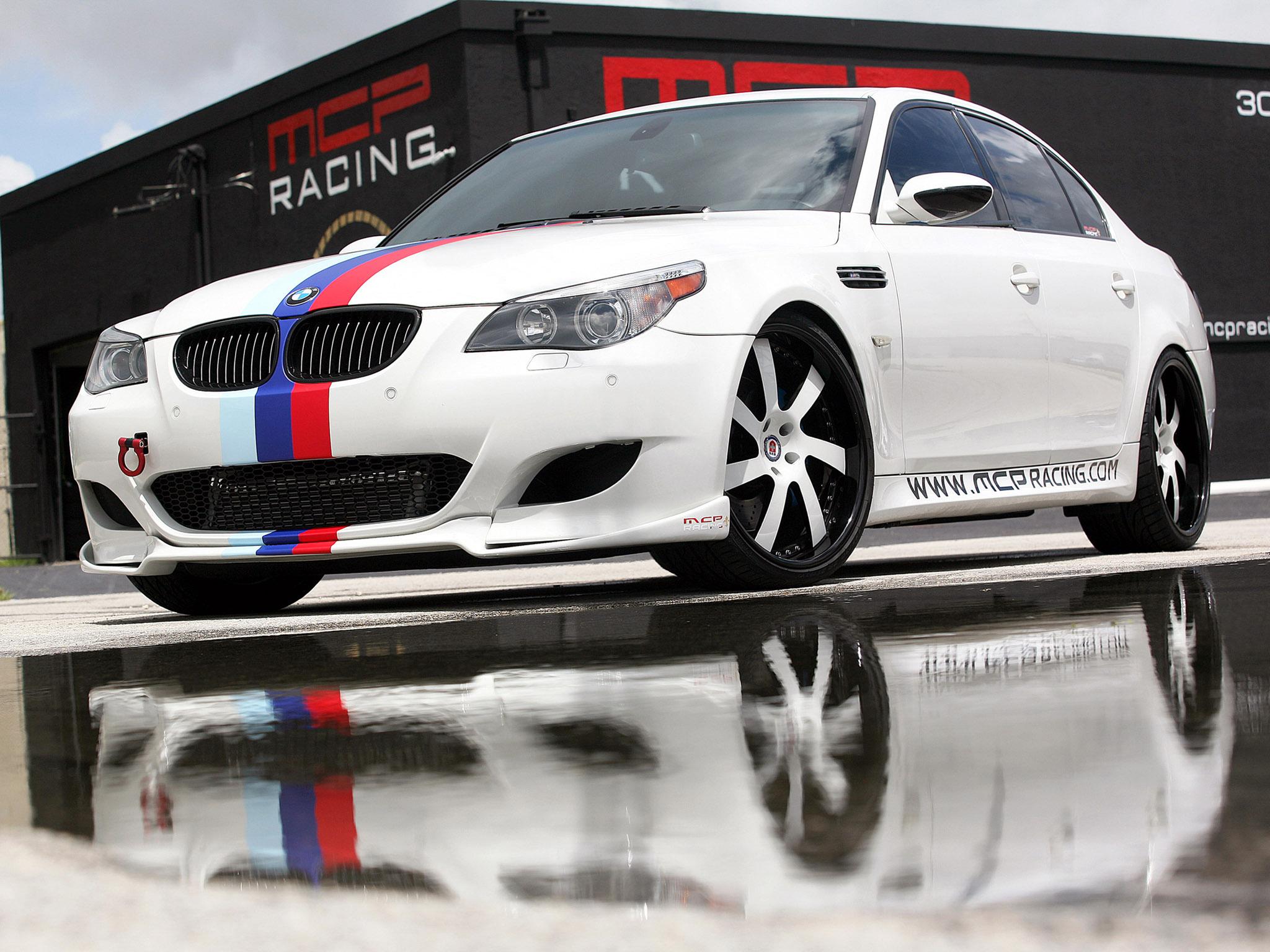 2010 Mcp Racing Bmw M5 Sedan E60 M 5 Tuning Wallpaper 2048x1536 107365 Wallpaperup
