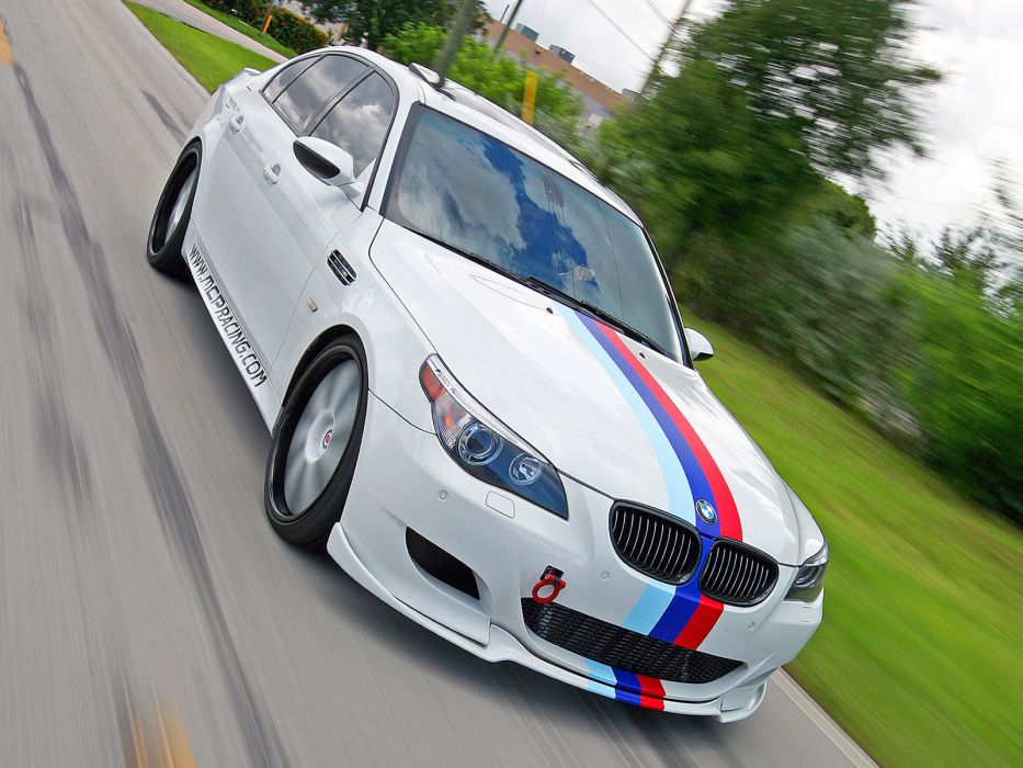 2010 MCP-Racing BMW M5 Sedan E60 m-5 tuning      f wallpaper