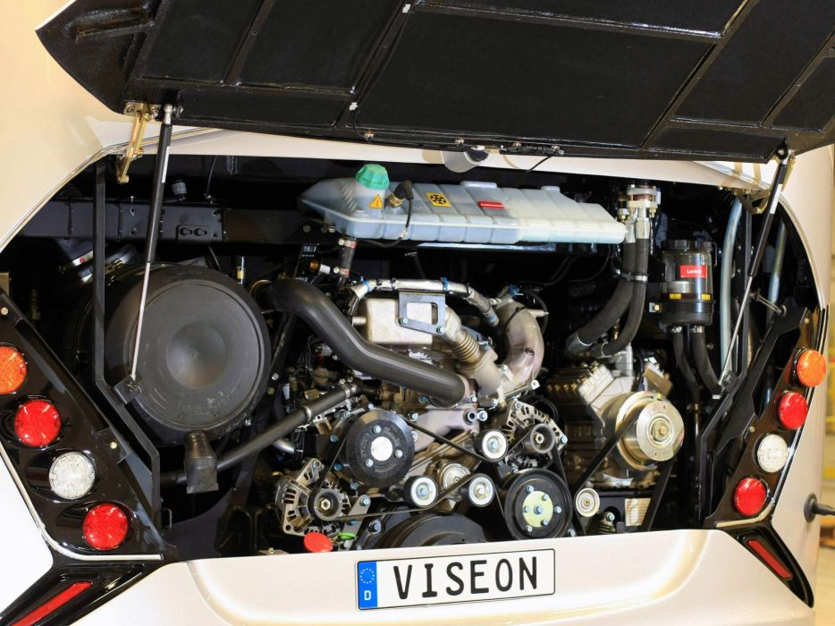 2010 Viseon C13 bus transport engine engines wallpaper