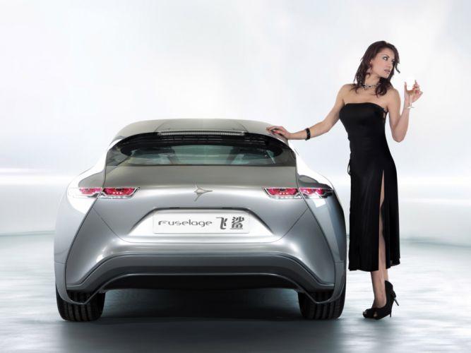 2011 Icona-Design Fuselage Concept supercar supercars f wallpaper