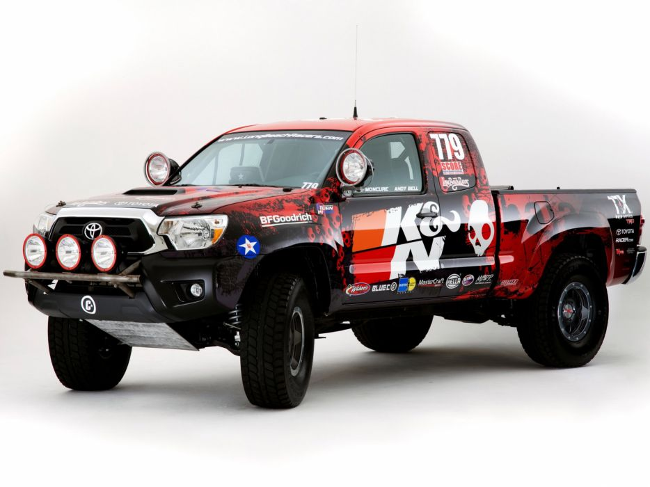 2011 Toyota Tacoma truck 4x4 offroad race racing wallpaper
