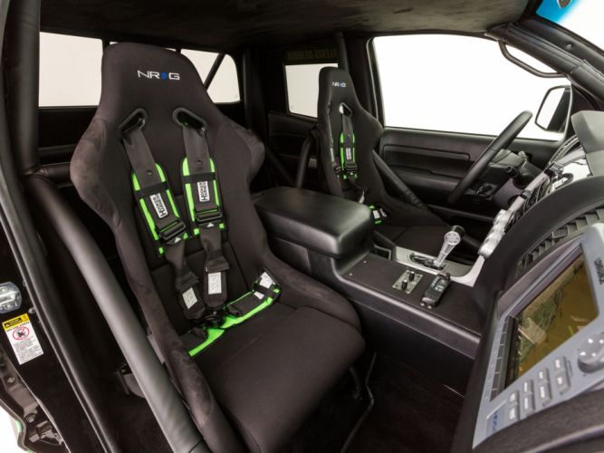 2012 Toyota Tundra Pre-Runner truck offroad 4x4 race racing interior wallpaper