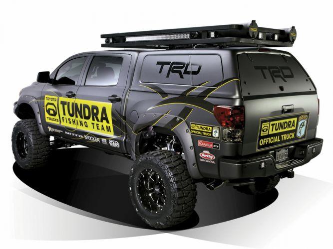 2012 Toyota Tundra Ultimate Fishing truck 4x4 offroad g wallpaper