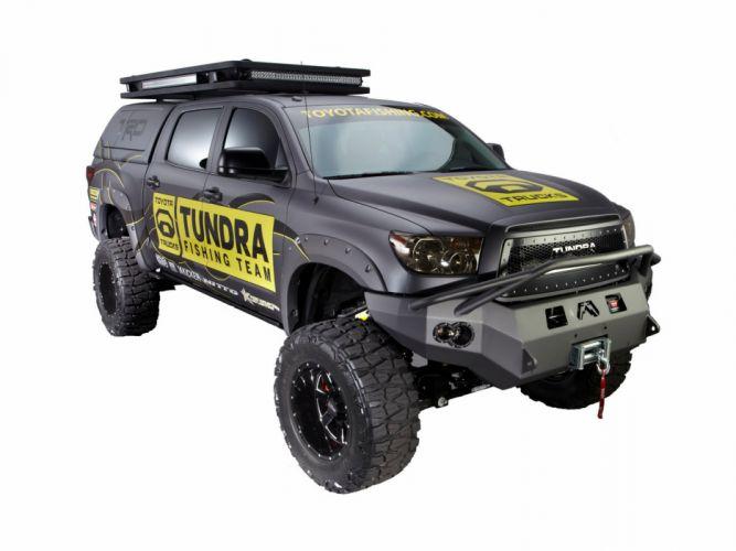 2012 Toyota Tundra Ultimate Fishing truck 4x4 offroad wallpaper
