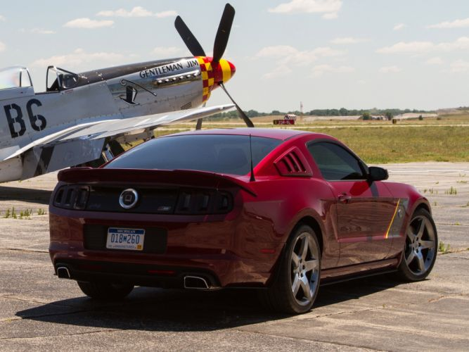 2013 Roush Ford Mustang Stage-3 muscle supercar supercars airplane plane retro military f wallpaper