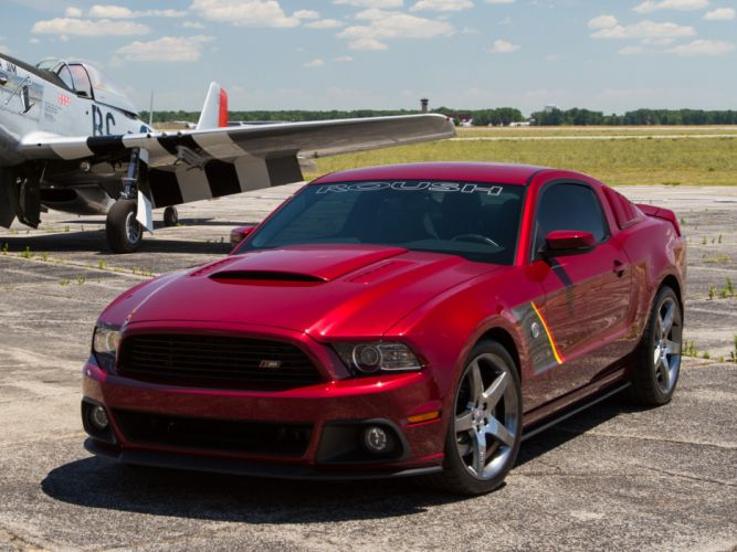 2013 Roush Ford Mustang Stage-3 muscle supercar supercars airplane plane retro military g wallpaper