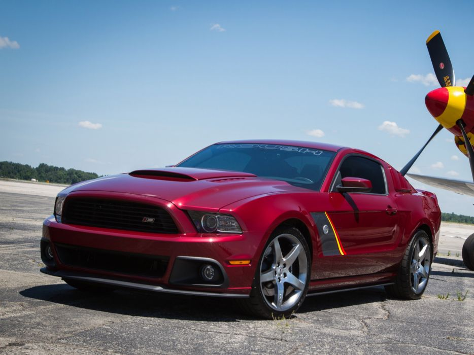 2013 Roush Ford Mustang Stage-3 muscle supercar supercars airplane plane retro military wallpaper