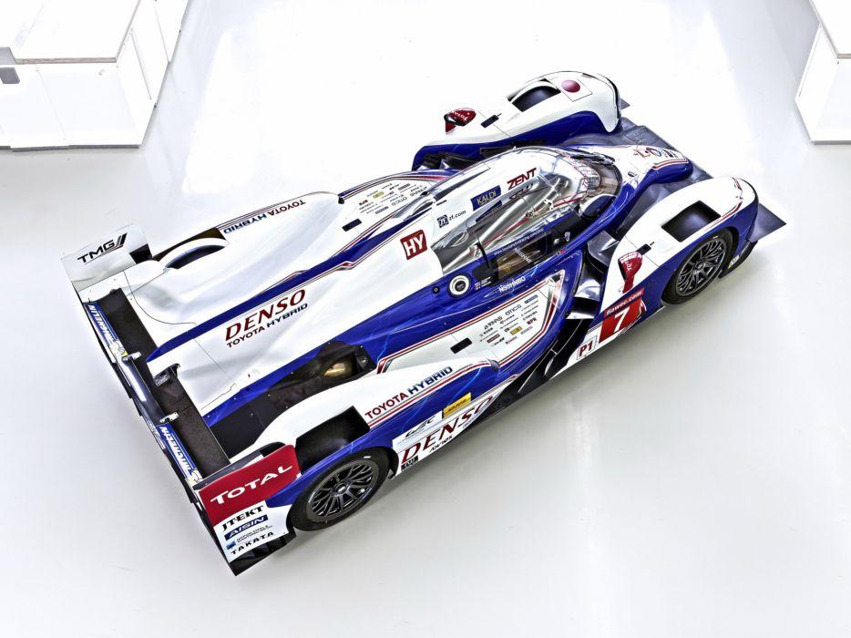 2013 Toyota TS030 Hybrid race racing      g wallpaper
