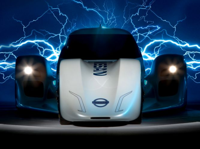 2014 Nissan ZEOD RC electric supercar supercars wallpaper