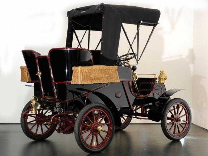 1903 Cadillac Model-A Runabout retro g wallpaper