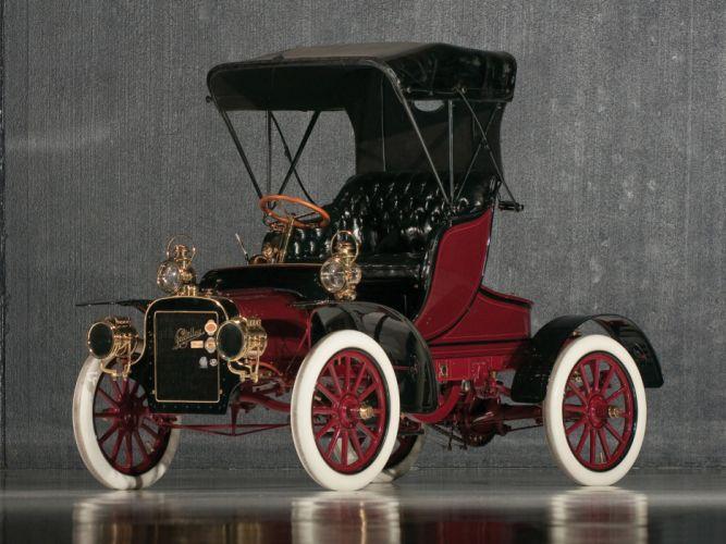 1906 Cadillac Model-K Light Runabout retro wallpaper