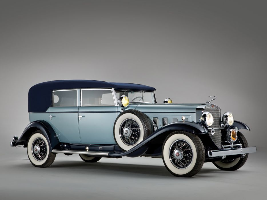 1930 Cadillac Sixteen v16 Convertible Sedan luxury retro  g wallpaper