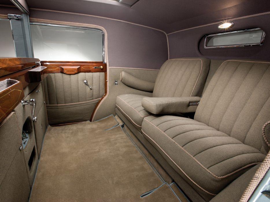 1930 Cadillac Sixteen v16 Convertible Sedan luxury retro interior    g wallpaper