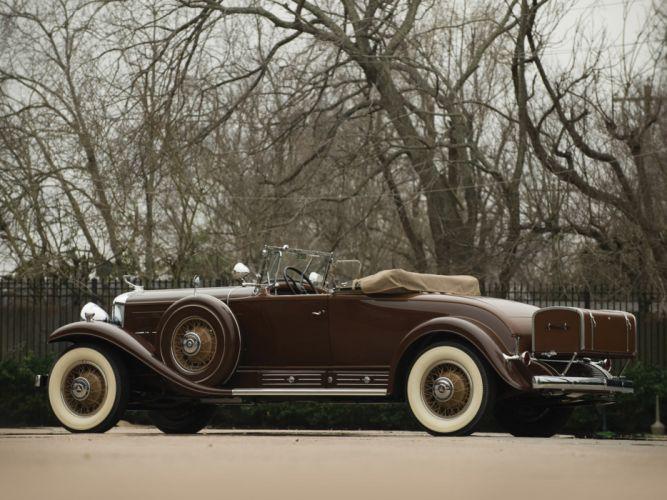 1930 Cadillac V16 452 Roadster retro luxury fleetwood g wallpaper