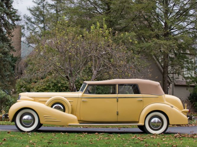 1935 Cadillac V16 452 D Imperial Convertible luxury retro g wallpaper