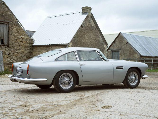 1960 Aston Martin DB4 Series-II classic f wallpaper