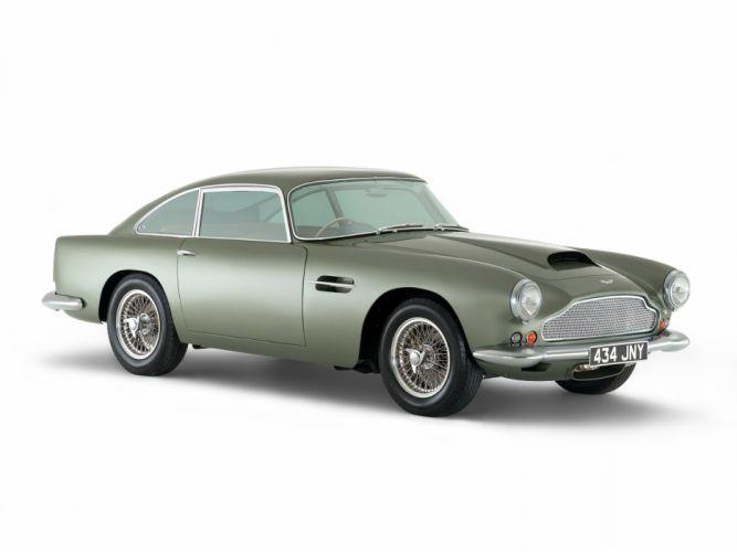 1960 Aston Martin DB4 Series-II classic g wallpaper