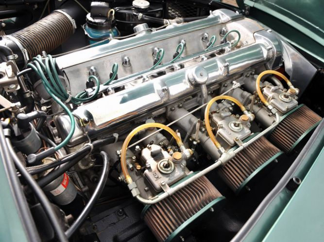 1960 Aston Martin DB4 Series-II classic engine engines e wallpaper