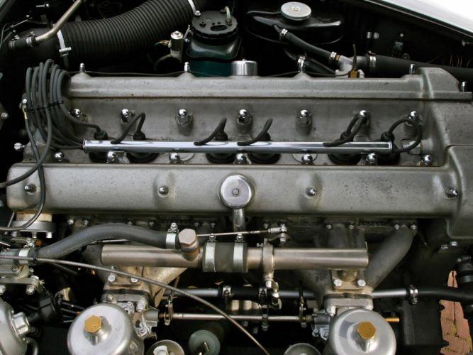 1960 Aston Martin DB4 Series-II classic engine engines f wallpaper