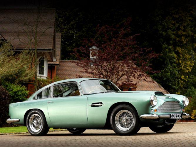 1960 Aston Martin DB4 Series-II classic wallpaper