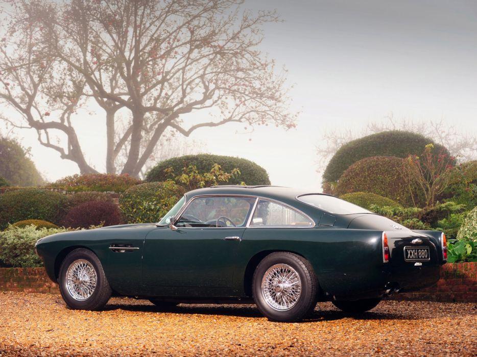 1960 Aston Martin DB4 UK claasic       f wallpaper