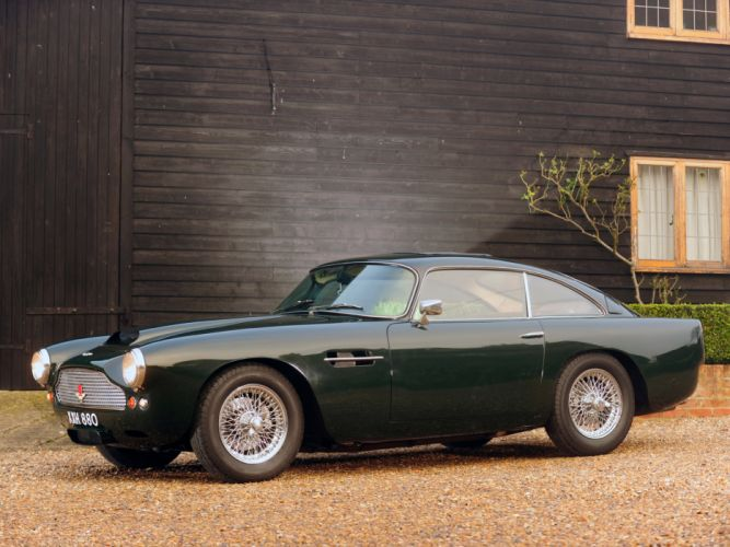 1960 Aston Martin DB4 UK claasic g wallpaper