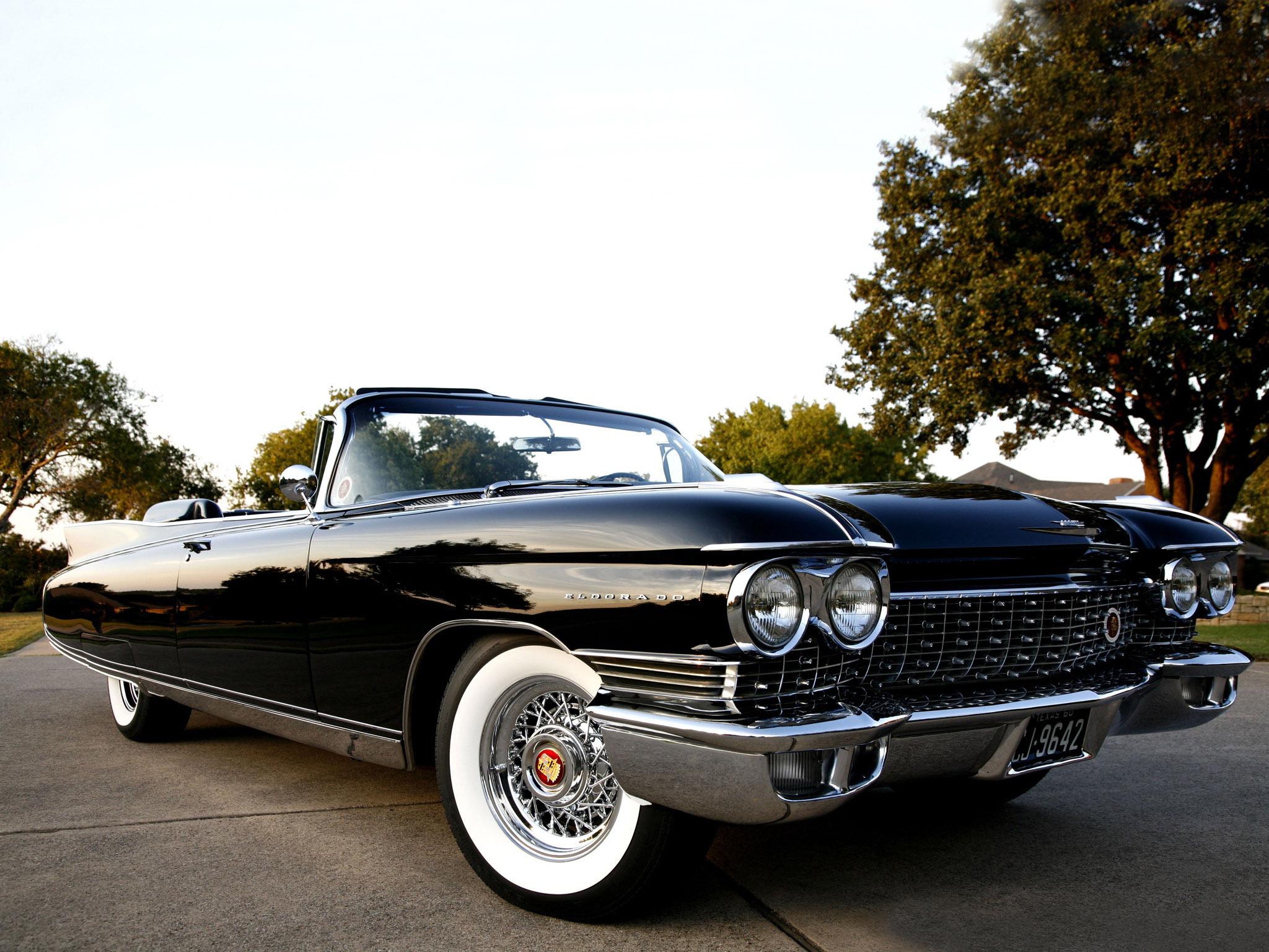 1960 cadillac eldorado biarritz classic luxury convertible - Cadillac wallpaper ...
