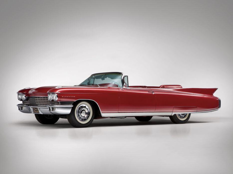 1960 Cadillac Eldorado Biarritz classic luxury convertible   c wallpaper