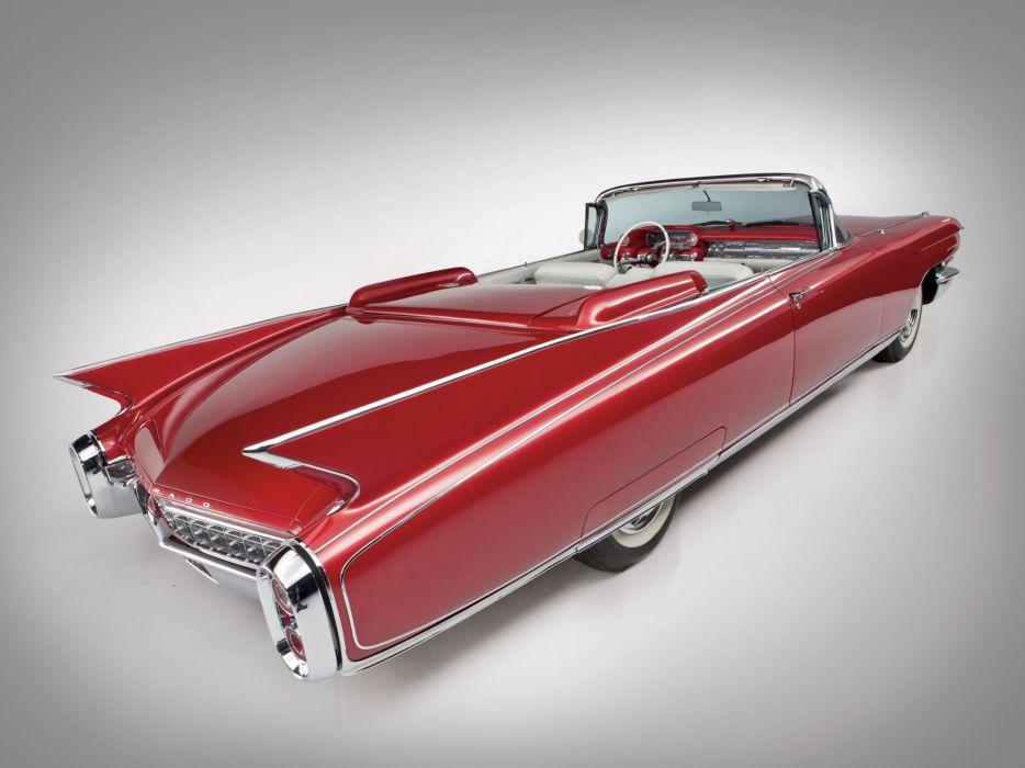 1960 Cadillac Eldorado Biarritz classic luxury convertible  n wallpaper