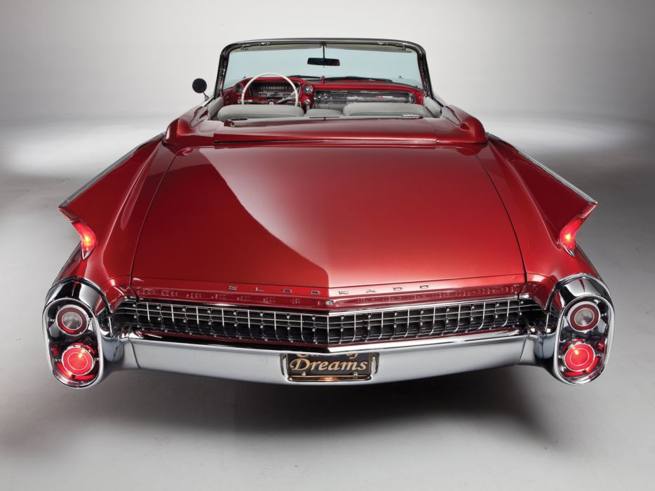 1960 Cadillac Eldorado Biarritz classic luxury convertible  g wallpaper