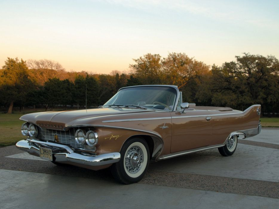 1960 Plymouth Fury Convertible classic wallpaper