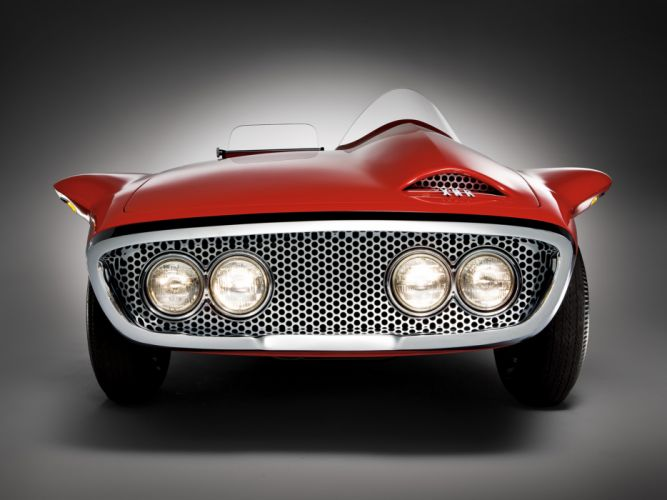 1960 Plymouth XNR Concept muscle classic supercar supercars g wallpaper
