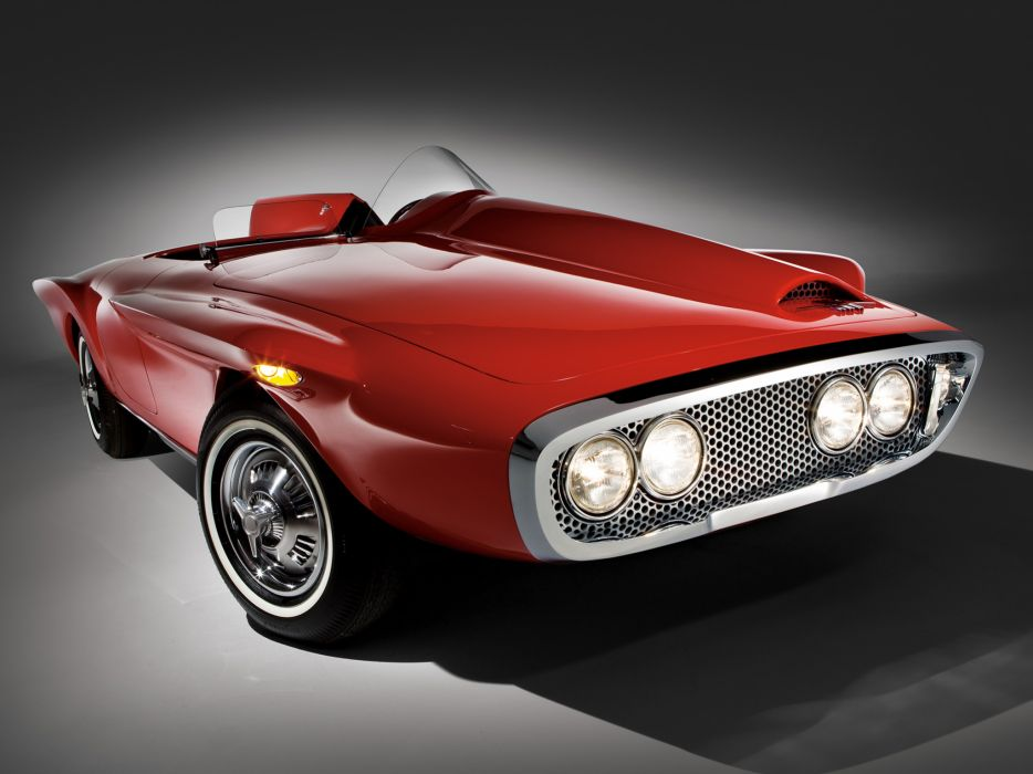 1960 Plymouth XNR Concept muscle classic supercar supercars    h wallpaper