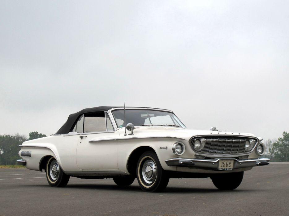 1962 Dodge Dart 440 Convertible classic muscle wallpaper