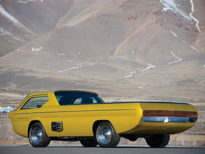 1965 Dodge Deora Pickup truck concept hot rod rods classic muscle f wallpaper