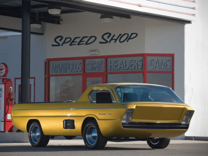 1965 Dodge Deora Pickup truck concept hot rod rods classic muscle wallpaper