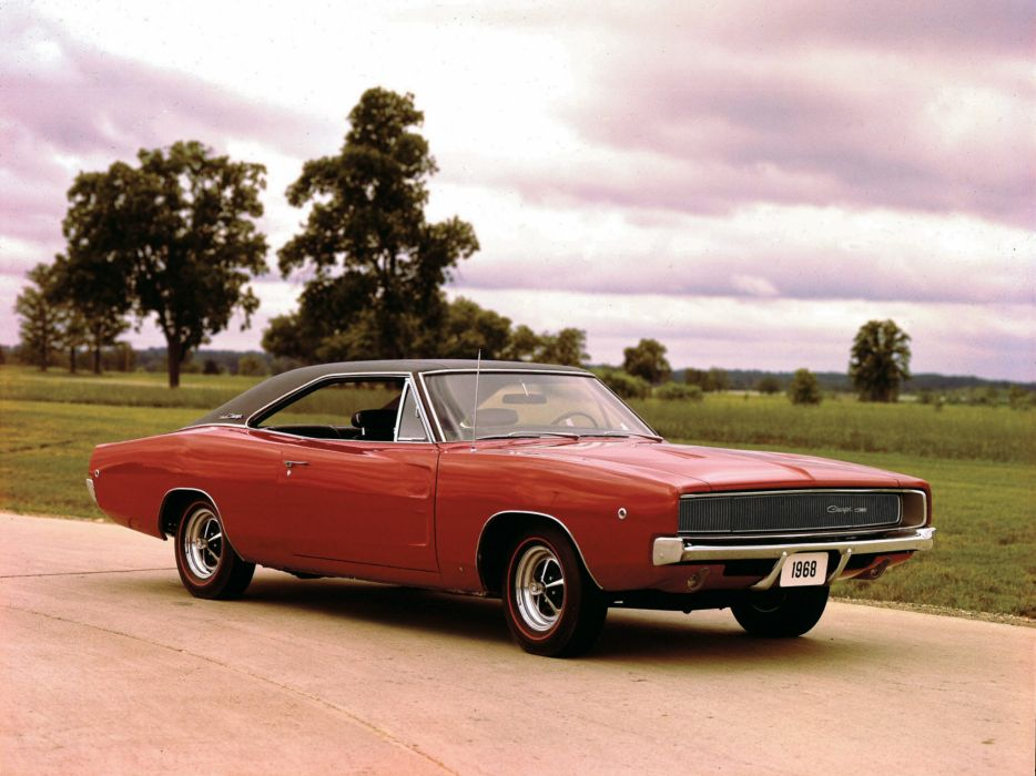 1968 Dodge Charger classic muscle wallpaper
