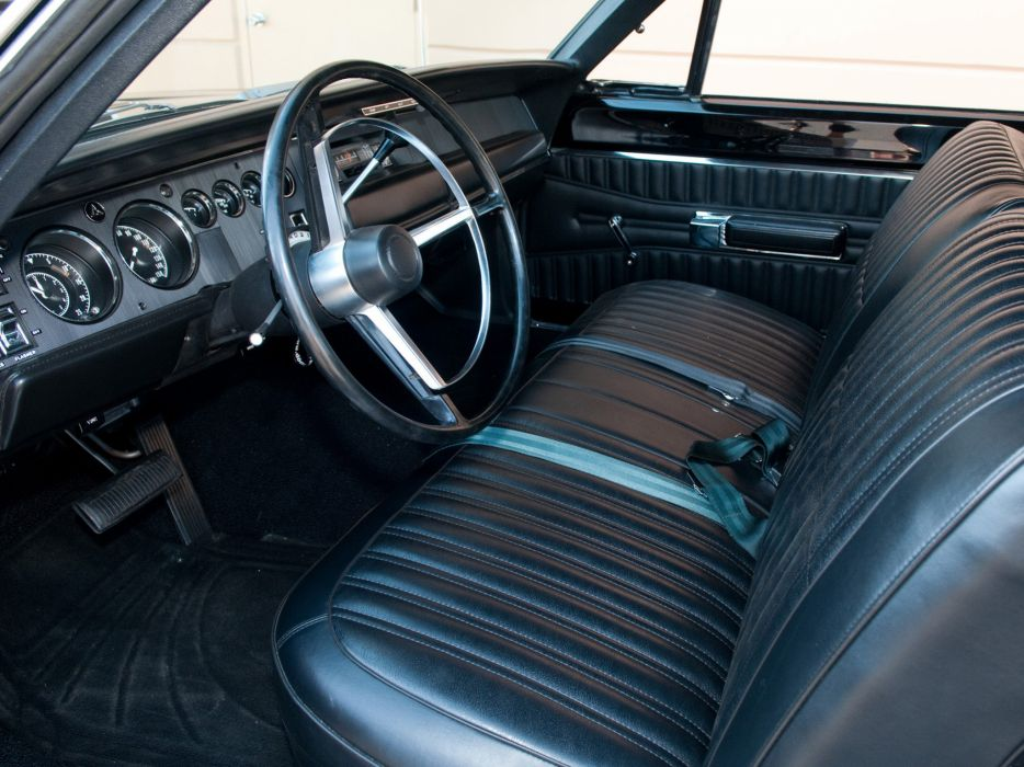 1968 Dodge Coronet Super Bee Classic Muscle Interior