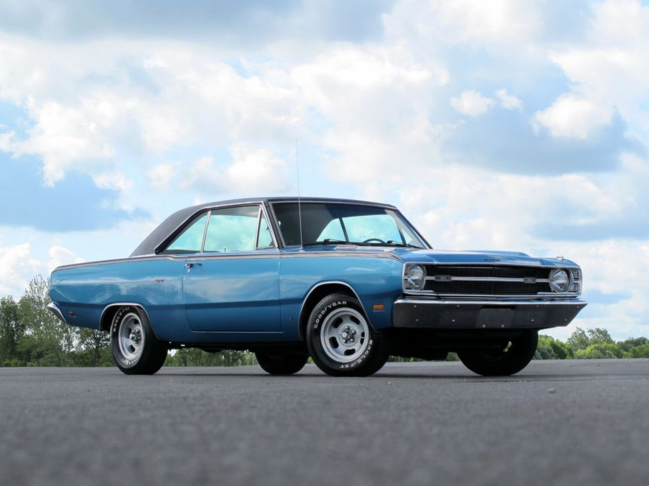 1969 Dodge Dart GTS classic muscle hot rod rods wallpaper