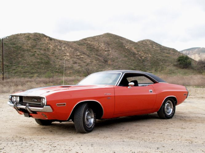 1970 Dodge Challenger R-T muscle classic g wallpaper