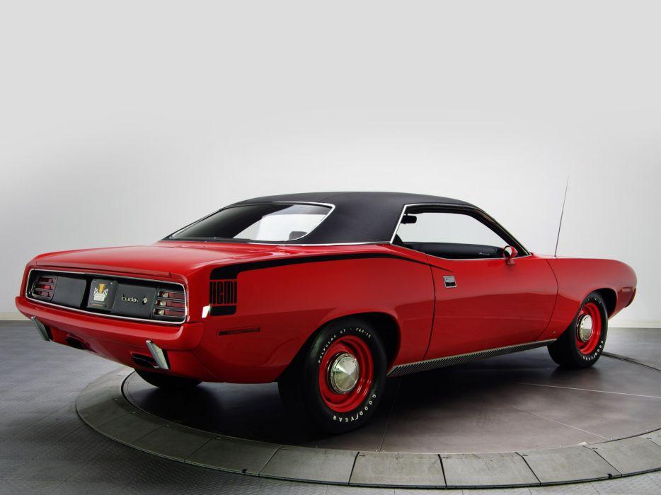 1970 Plymouth Hemi Cuda classic muscle     g wallpaper